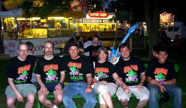 Hot Rod Anglicans At Champaign County Fair T-Shirt Photo
