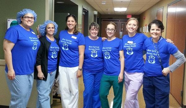 These Nurses Really Rock T-Shirt Photo