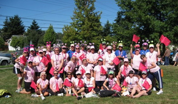 Seattle Hotties Team   The 2007 Breast Cancer 3 Day Walk T-Shirt Photo
