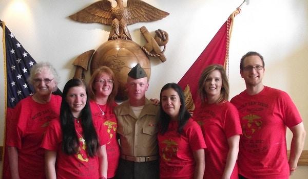 Oooraaaah!!! My Marines Boot Camp Graduation T-Shirt Photo