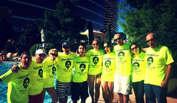 Cha Boy!!! Or Vegas Baby, Vegas! T-Shirt Photo