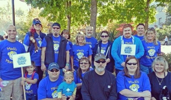 2013 Buddy Walk   Madi's Monkeys T-Shirt Photo