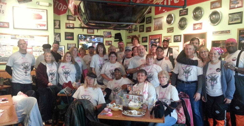 National Breast Cancer Foundation Poker Run T-Shirt Photo