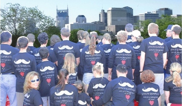 We Mustasche You A Question... T-Shirt Photo
