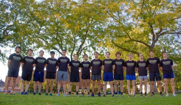 Whitman College Men's Cross Country T-Shirt Photo