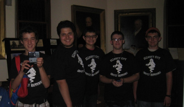 Paranormal Birthday Party Group T-Shirt Photo