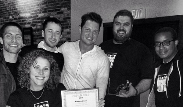 """Crowded Elevator Wins """"Audience Award"""" At The 72 Film Fest 2013 T-Shirt Photo"""