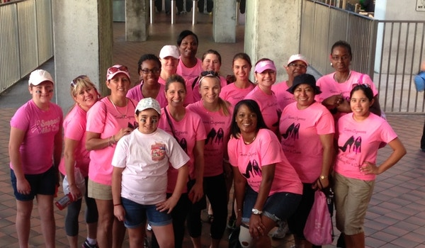 Team Cypress: Educators Walking For A Cure T-Shirt Photo