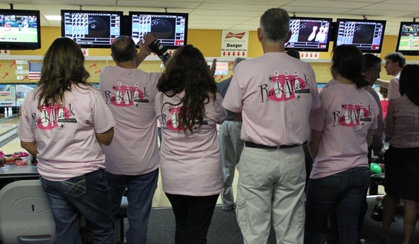 "Poh ""Rack Attack"" Bowling Team T-Shirt Photo"
