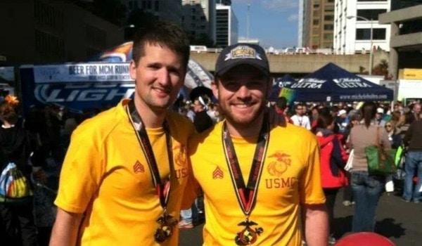 Marine Corps Marathon 2013   Mission Accomplished T-Shirt Photo