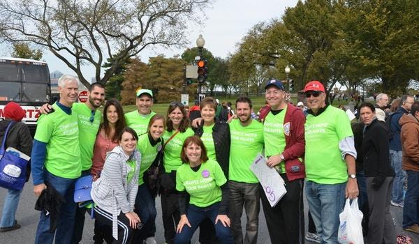 Marine Corps Marathon 2013 Support Crew T-Shirt Photo