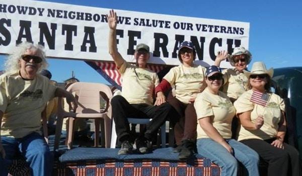 Santa Fe Ranch Float T-Shirt Photo