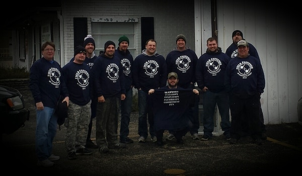 Field Fastener Paintball Outing  T-Shirt Photo