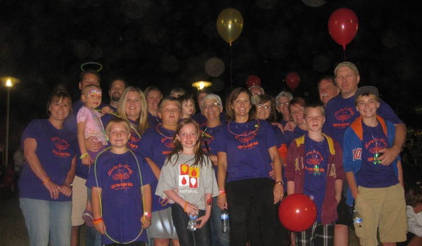 Fight Leukemia   Light The Night Walk T-Shirt Photo