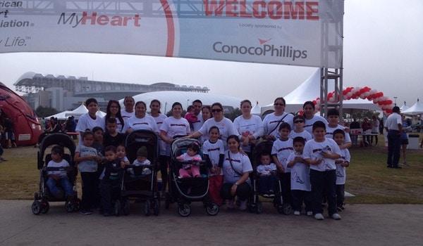 Team Daniella Heart Walk T-Shirt Photo