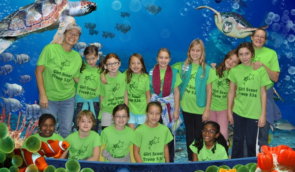 Girl Scouts That Know How To Make A Splash!!! T-Shirt Photo