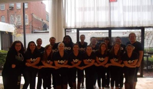 Alpha Phi Omega   Delta Gamma Chapter  T-Shirt Photo