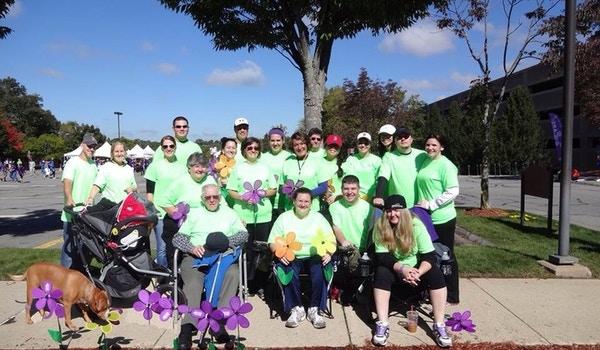 Doing The Nana Walk! Fight To End Alzheimer's! T-Shirt Photo
