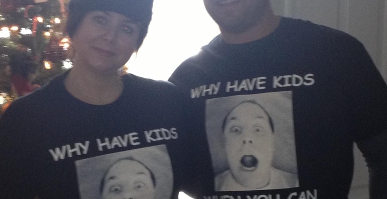 Christmas Present  T-Shirt Photo