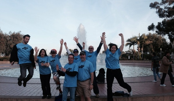 The Jaffe Clan Gather In Southern California For Their Family Reunion.  T-Shirt Photo