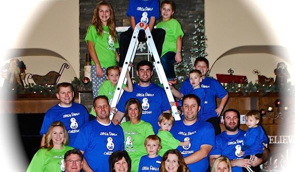 Eppich Family Christmas 2013 T-Shirt Photo