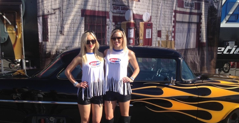 Amsoil Girls At Supercross Retro Weekend T-Shirt Photo