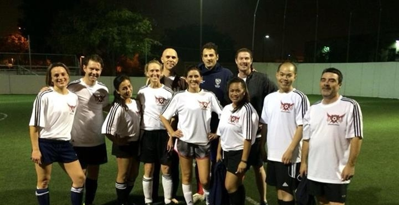 Oliver Mc Millan Soccer Team T-Shirt Photo