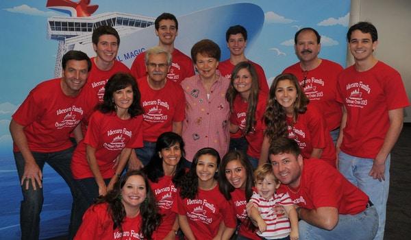 Family Christmas Cruise 2013 T-Shirt Photo