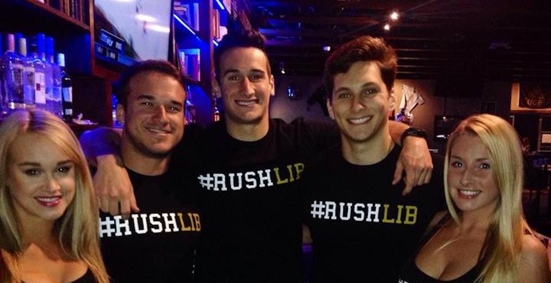 #Rushlib Shirts Worn By Ucf's Knight Library Staff T-Shirt Photo