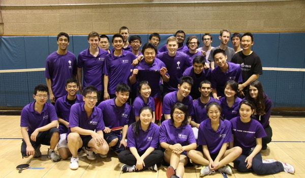 Nyu Table Tennis Team T-Shirt Photo