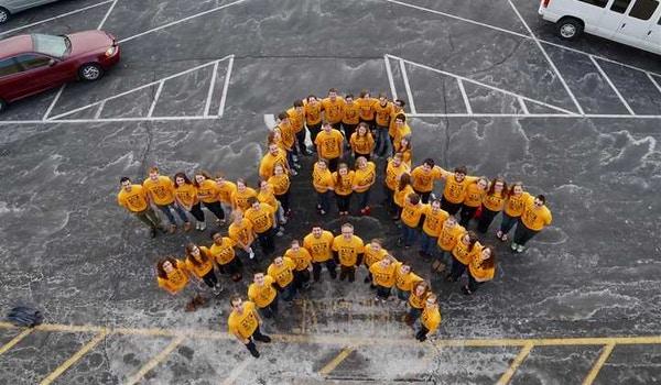 The Genevans Choir Octopus  T-Shirt Photo