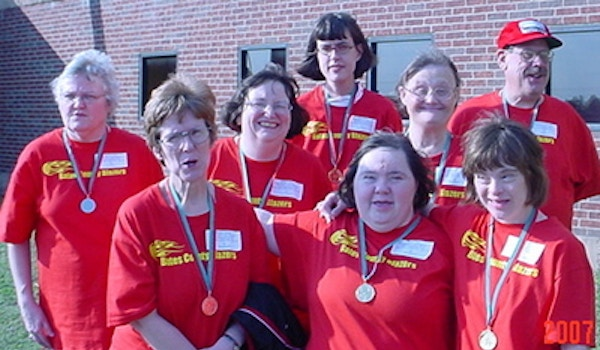 Bates County Blazers Take Gold/Silver At Special Olympics Mo T-Shirt Photo