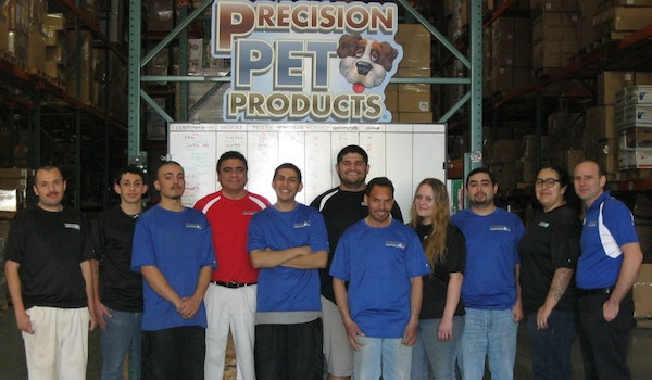 Precision Pet Products Employee Team Photo T-Shirt Photo