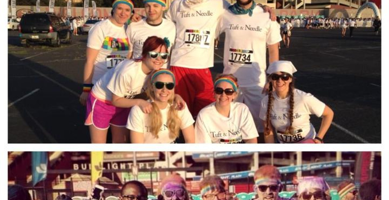Team Tuft & Needle! T-Shirt Photo