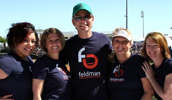Feldman Orthodontics At Spring Training T-Shirt Photo