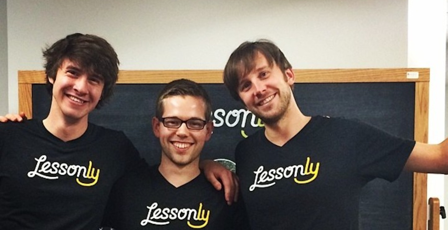 Lessonly Trio + Ghost T-Shirt Photo