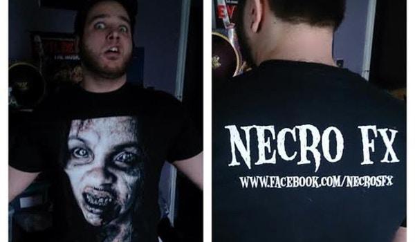 Necro Fx Shirt Finally T-Shirt Photo
