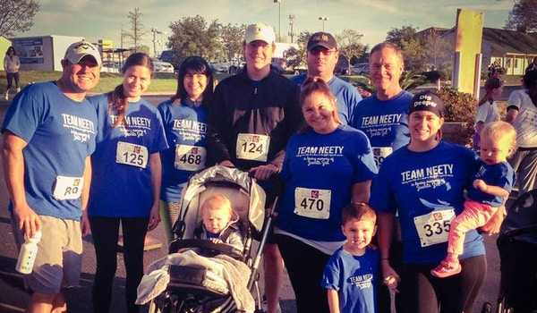 Team Neety: Fighting Cancer One Step At A Time! T-Shirt Photo