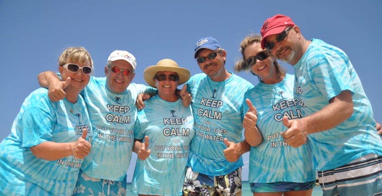 Keep Calm On The Beach In Jamaica T-Shirt Photo