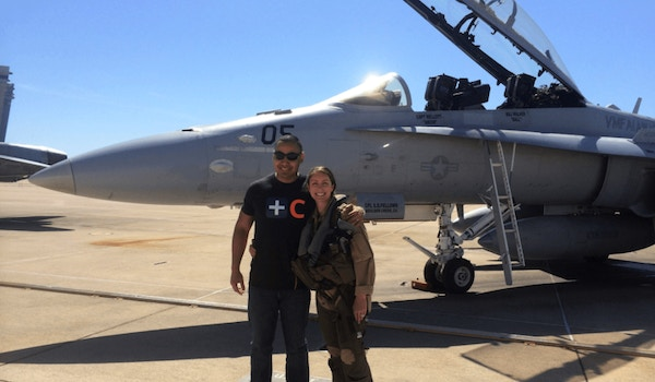 Wife's Return From Deployment! T-Shirt Photo