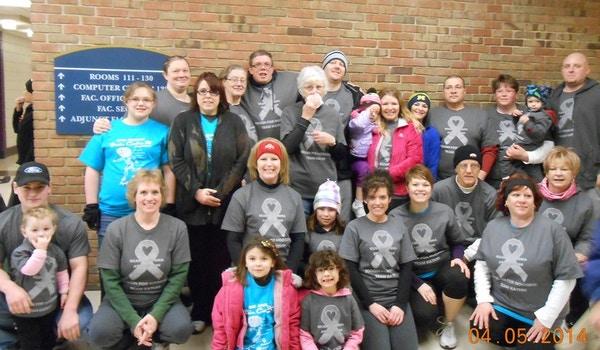 Glioblastoma Awareness...Team Kathy! T-Shirt Photo