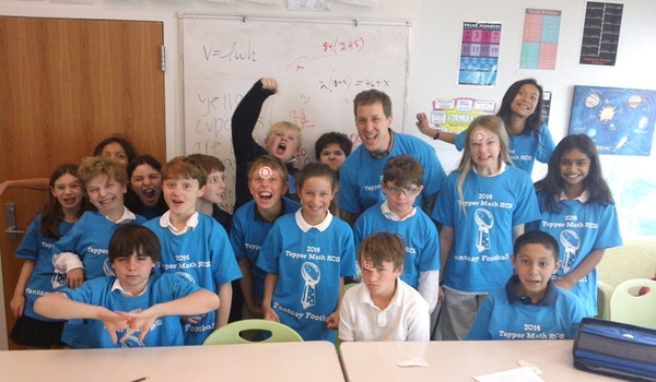 Teppper Math Class Fantasy Football T-Shirt Photo
