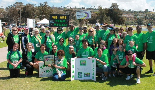 Team Micah  Walk For Epilepsy T-Shirt Photo