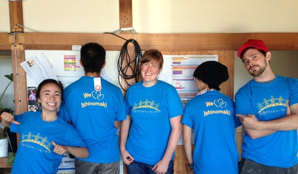 We Love Ishinomaki! T-Shirt Photo
