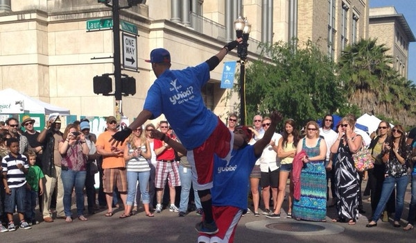 The Break Dancers Wore Our Shirts! T-Shirt Photo