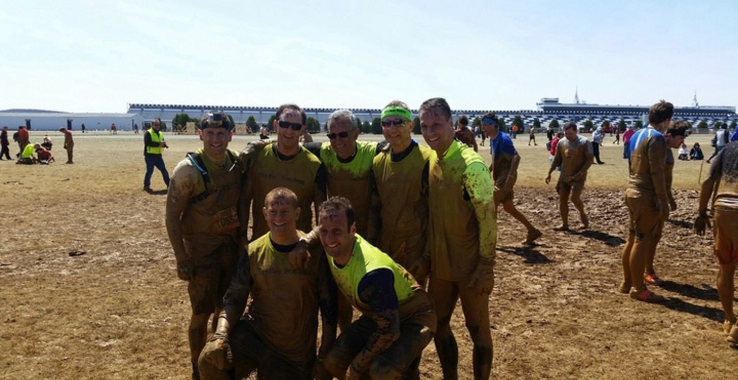 The Bay Bombers Tough Mudders On The Mud T-Shirt Photo