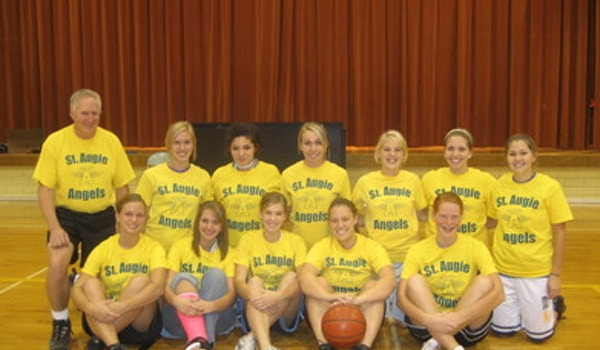St. Augie Angels Cyo Basketball Team T-Shirt Photo
