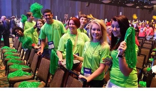 Having Fun At The Phi Theta Kappa Annual Convention T-Shirt Photo