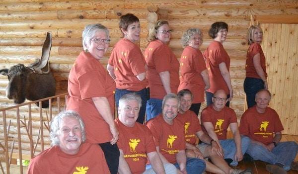 Wayward Moose Inn Asheville, Nc 2014 T-Shirt Photo