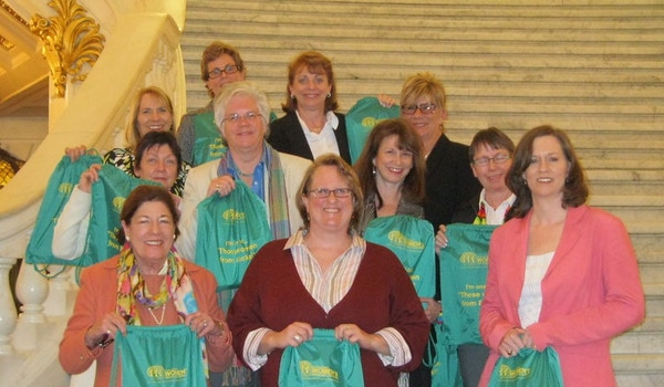 ":""Those Women From Bucks"" T-Shirt Photo"